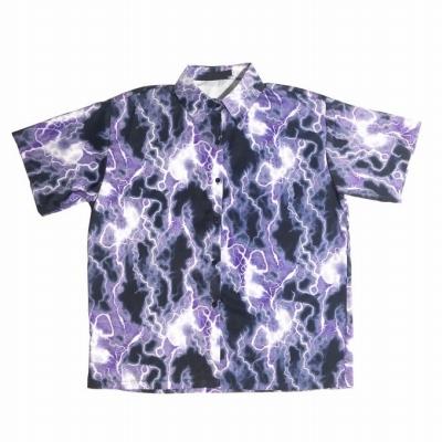 ライトニングタイダイシャツ