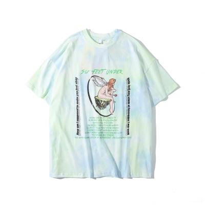 《2色》マーブルタイダイエンジェルTシャツ