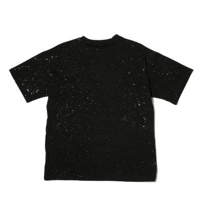 《2色》スプラッシュグリッターTシャツ