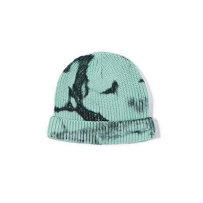 《4色》タイダイニット帽