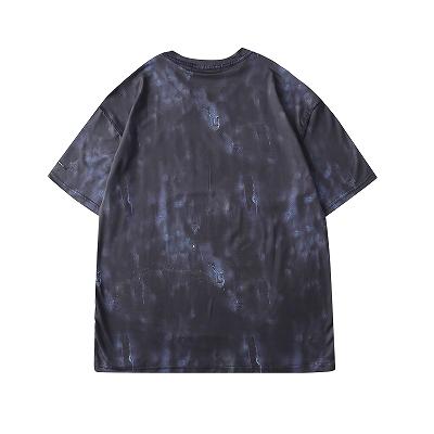 《2色》バタフライメルトクマタイダイTシャツ