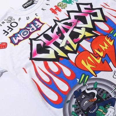 《2色》CHAOSカートゥーングラフィティTシャツ