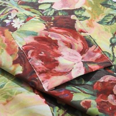 ブルーミングフラワー半袖シャツ