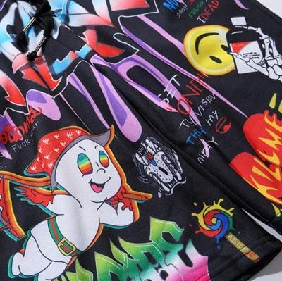 《2色》CHAOSカートゥーングラフィティショートパンツ