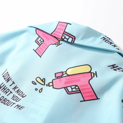 ウォーターガン半袖シャツ