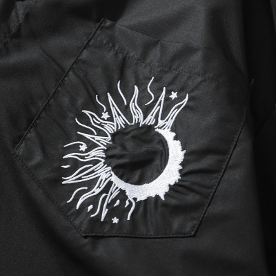 エルボージップ長袖シャツ