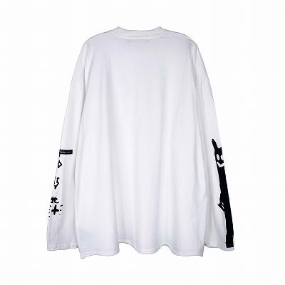 《2色》PUNK OFF ロングTシャツ