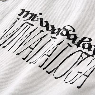 グラフィティペイントデニムシャツジャケット