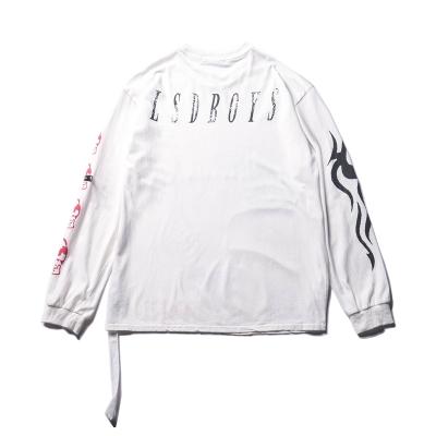 《2色》オーバーサイズトライバルロングTシャツ