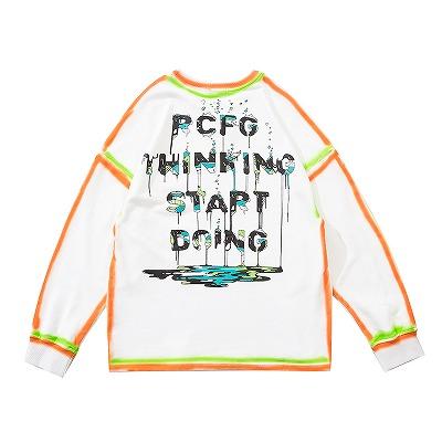 PCFGペインティングロングTシャツ