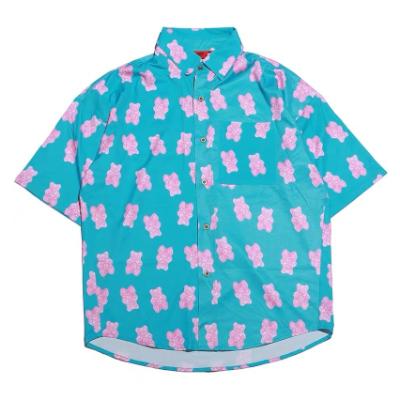 ピンククマ半袖シャツ