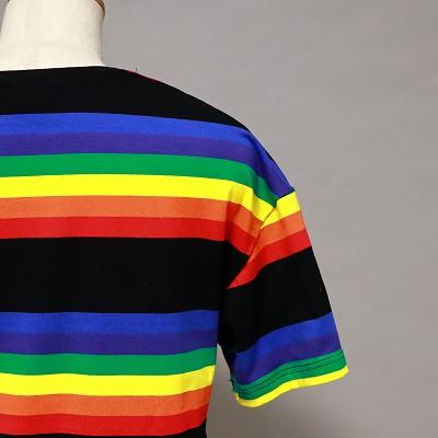 《2色》USマークレインボーTシャツ