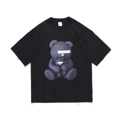 《2色》目隠しクマTシャツ