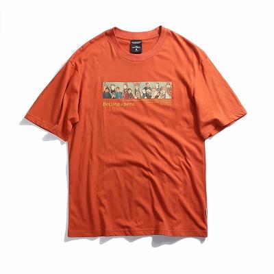 《2色》チャイニーズオペラTシャツ