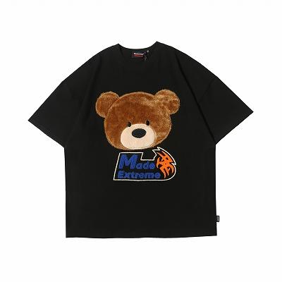 オーバーサイズクマフェイスTシャツ