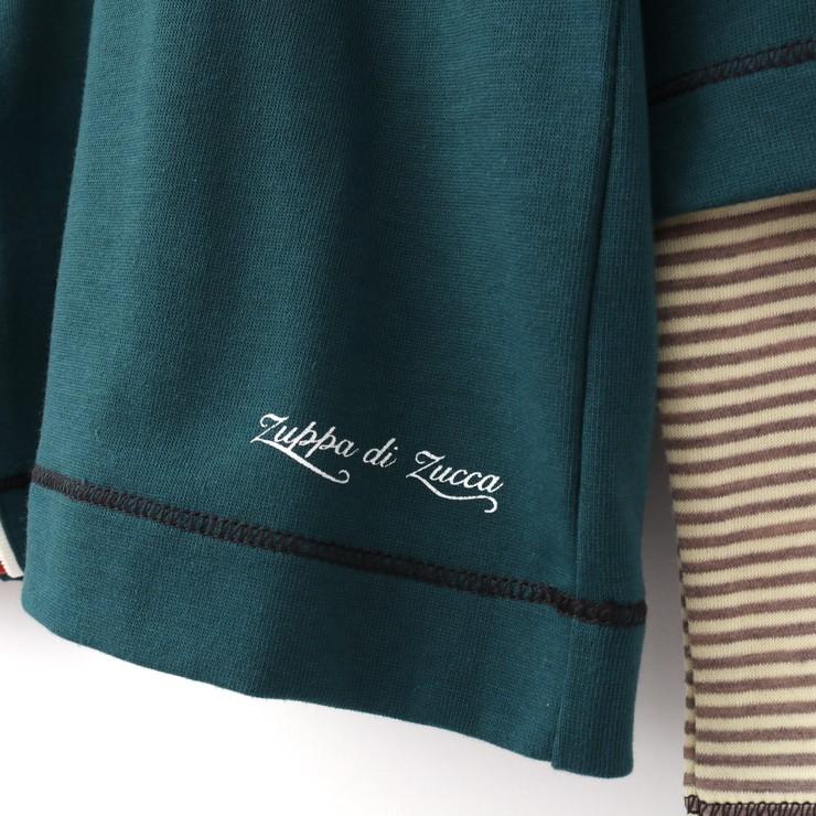 セール SALE 長袖Tシャツ レイヤード風 32343044b 80cm 90cm ズッパディズッカ zuppa di zucca 2020年商品