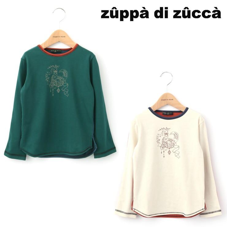 セール SALE 長袖Tシャツ 前後切替え 32343045b 80cm 90cm ズッパディズッカ zuppa di zucca 2020年商品