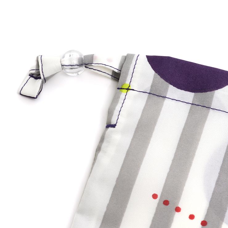レインポンチョ 袋付き フラワー ストライプドット R001j F(160cm) ズッパディズッカ zuppa di zucca 2020年新作