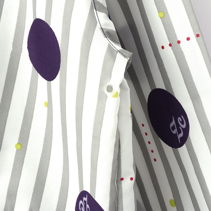 ランドセルレインコート 袋付き フラワー ストライプドット R002 S(100-110cm) M(110-120cm) L(120-130cm) ズッパディズッカ zuppa di zucca
