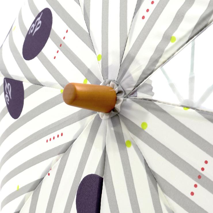 傘 フラワー ストライプドット R003 45cm 50cm ズッパディズッカ zuppa di zucca