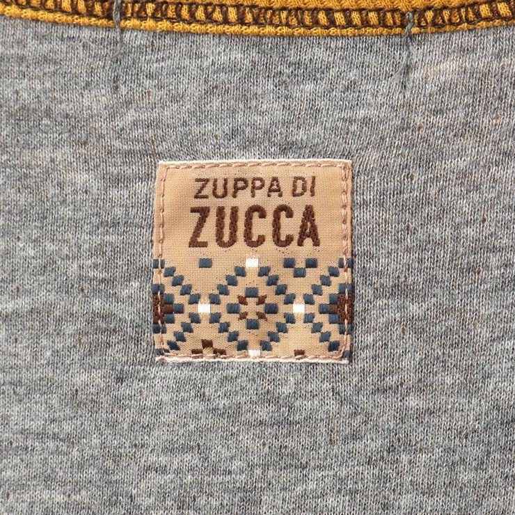 セール SALE 長袖ワンピース 胸元切替え 32343072b 80cm 90cm ズッパディズッカ zuppa di zucca 2020年商品
