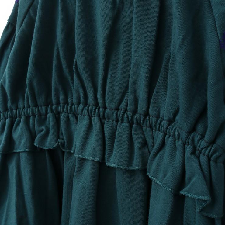 セール SALE 長袖Tシャツ ブラウス風 フロッキープリント 32343041b 80cm 90cm ズッパディズッカ zuppa di zucca 2020年商品
