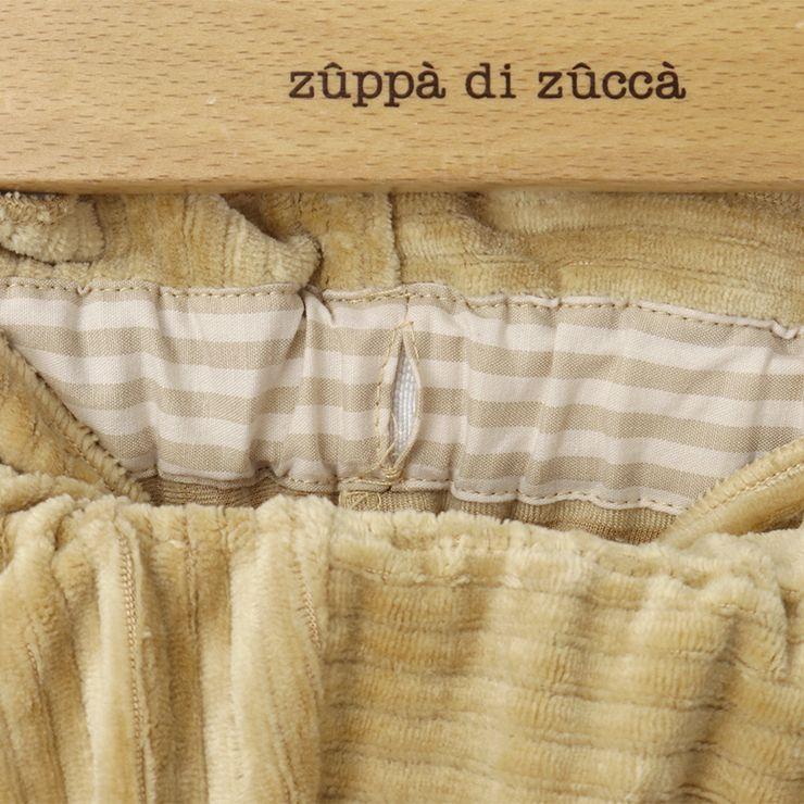 【 2020年新作 】 長パンツ コーデュロイ 花柄フラップ 【 32343097b 】 【 80cm 90cm 】 ズッパディズッカ zuppa di zucca