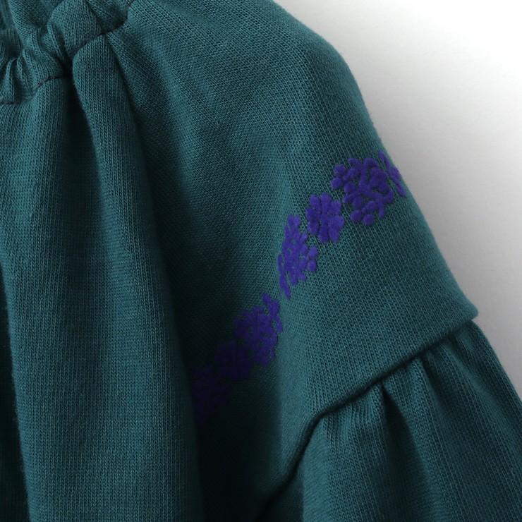 セール SALE 長袖Tシャツ ブラウス風 フロッキープリント 32343041k 100cm 110cm 120cm 130cm ズッパディズッカ zuppa di zucca 2020年商品