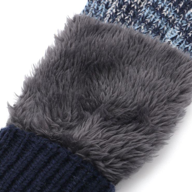 セール SALE ニット手袋 ミトン 5本指 ボア 32503607 S(ミトン 1~3歳) M(5本指 4~6歳) ズッパディズッカ zuppa di zucca 2020年商品
