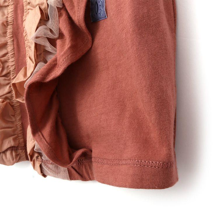 半袖Tシャツ チュール 33340216k 100cm 110cm 120cm 130cm  ズッパディズッカ zuppa di zucca 2021年新作