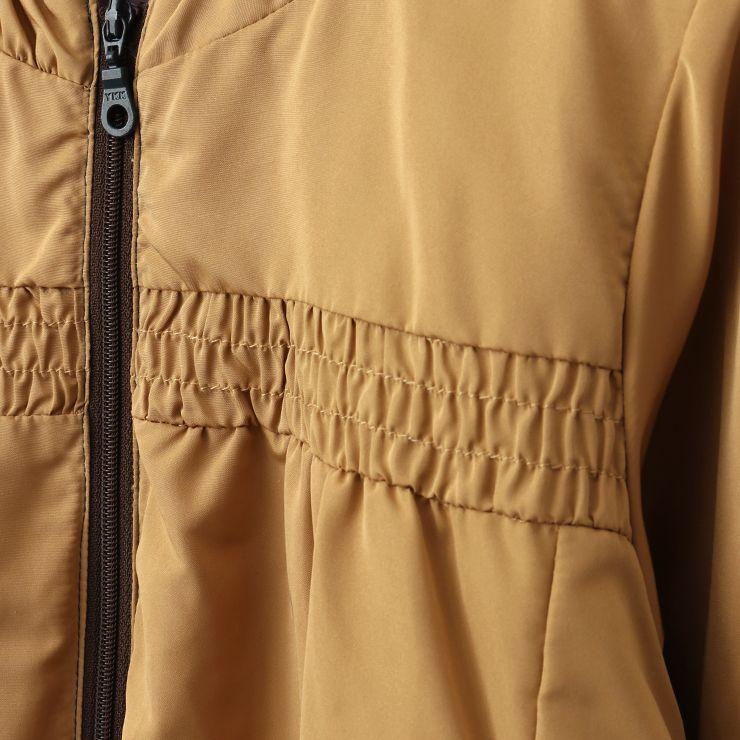 セール SALE ブルゾン 薄中綿入り 裾レース 32343098b 90cm ズッパディズッカ zuppa di zucca 2020年商品