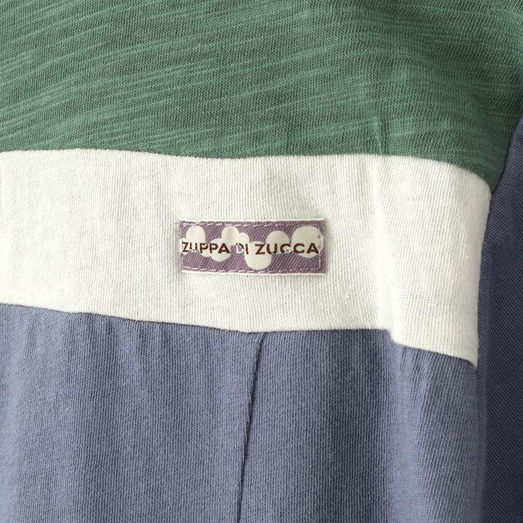 半袖Tシャツ 切替 33340220k 100cm 110cm 120cm 130cm  ズッパディズッカ zuppa di zucca 2021年新作