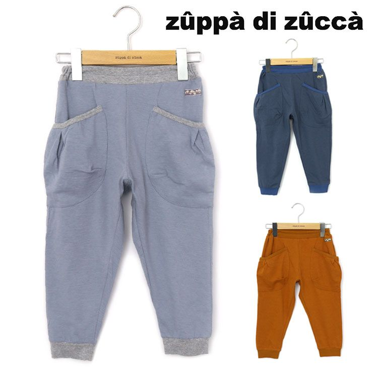 7分丈パンツ 立体ポケット 33347036b 80cm 90cm ズッパディズッカ zuppa di zucca 2021年新作
