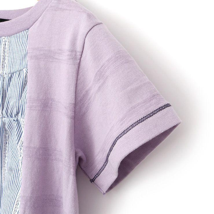 半袖Tシャツ ボーダー 花柄 33340222k 100cm 110cm 120cm 130cm  ズッパディズッカ zuppa di zucca 2021年新作