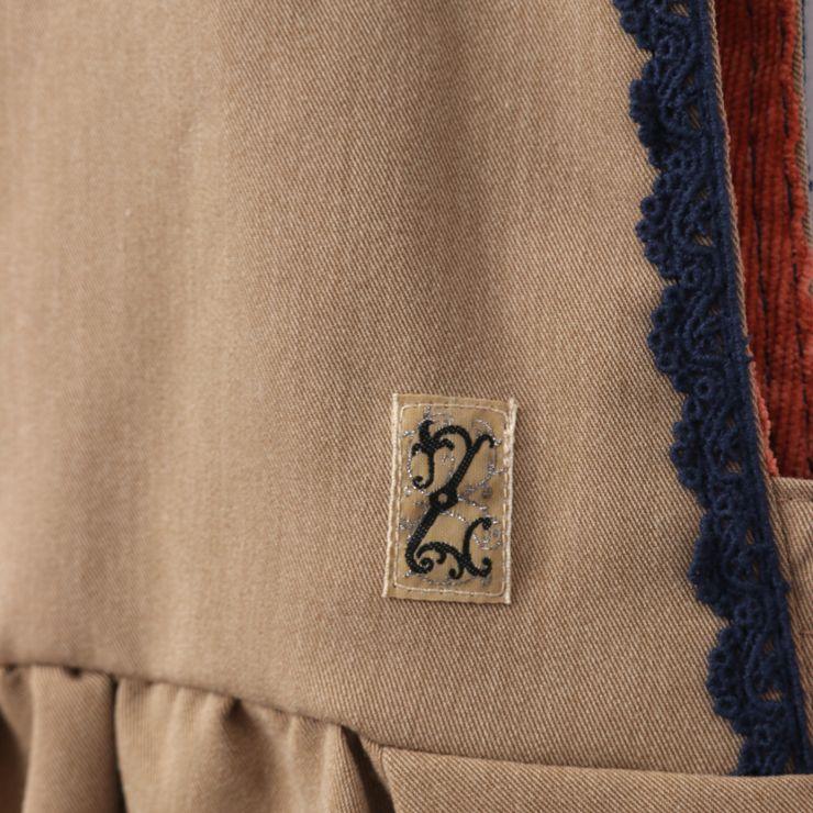 セール SALE ジャンパースカート 前後2WAY 32343095j 140cm 150cm 160cm ズッパディズッカ zuppa di zucca 2020年商品