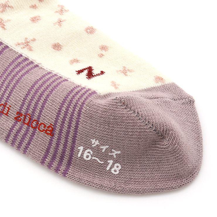 アンクルソックス 3柄セット 33507650 SS(11-13cm) S(13-15cm) M(16-18cm) L(19-21cm) LL(22-24cm)  ズッパディズッカ zuppa di zucca 2021年新作