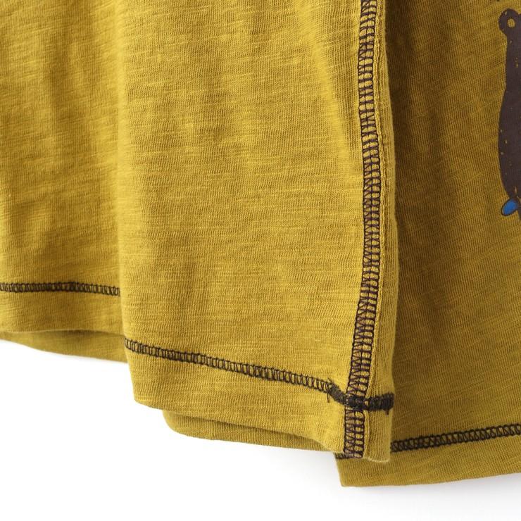 セール SALE 長袖Tシャツ クマさんプリント スラブ天竺 32343040b 80cm 90cm ズッパディズッカ zuppa di zucca 2020年商品