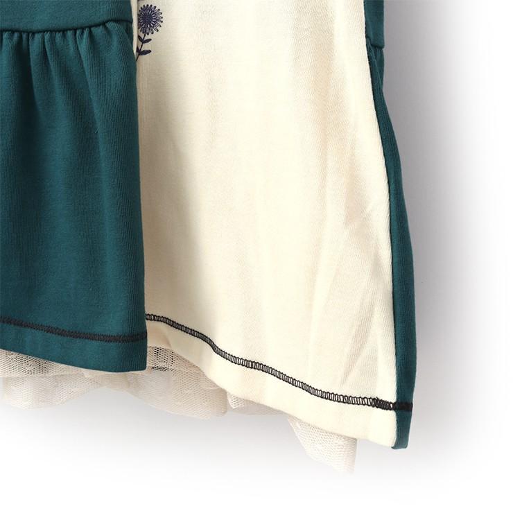 セール SALE ノースリーブワンピース リバーシブル フラワープリント ドットチュール 32343042b 80cm 90cm ズッパディズッカ zuppa di zucca 2020年商品