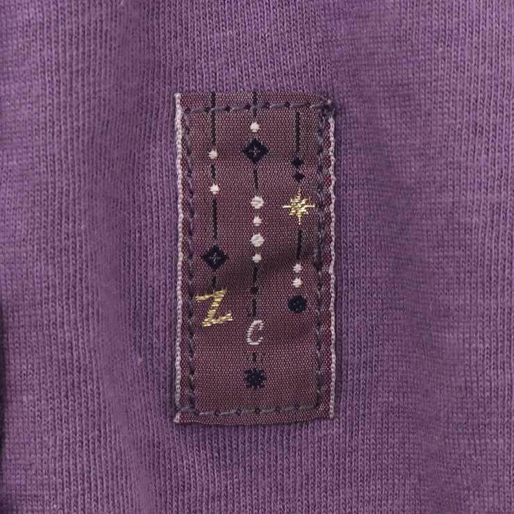 長袖Tシャツ フリル 33107017j 140cm 150cm 160cm zuppa di zucca ズッパディズッカ 2021年新作