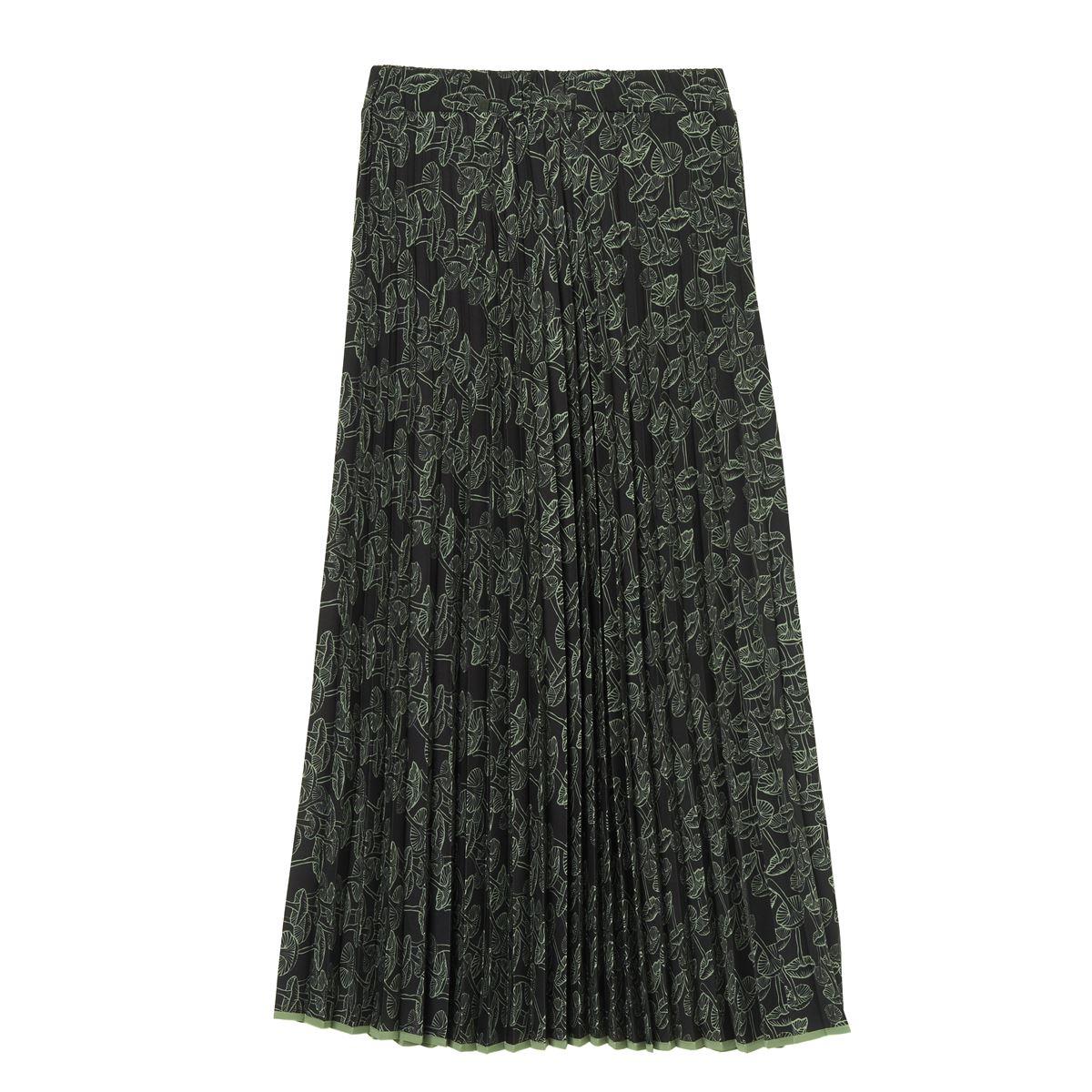 [2021秋冬]  ottod'Ame[オットダム]  122/LNF-DN5923-NERO スカート ブラック