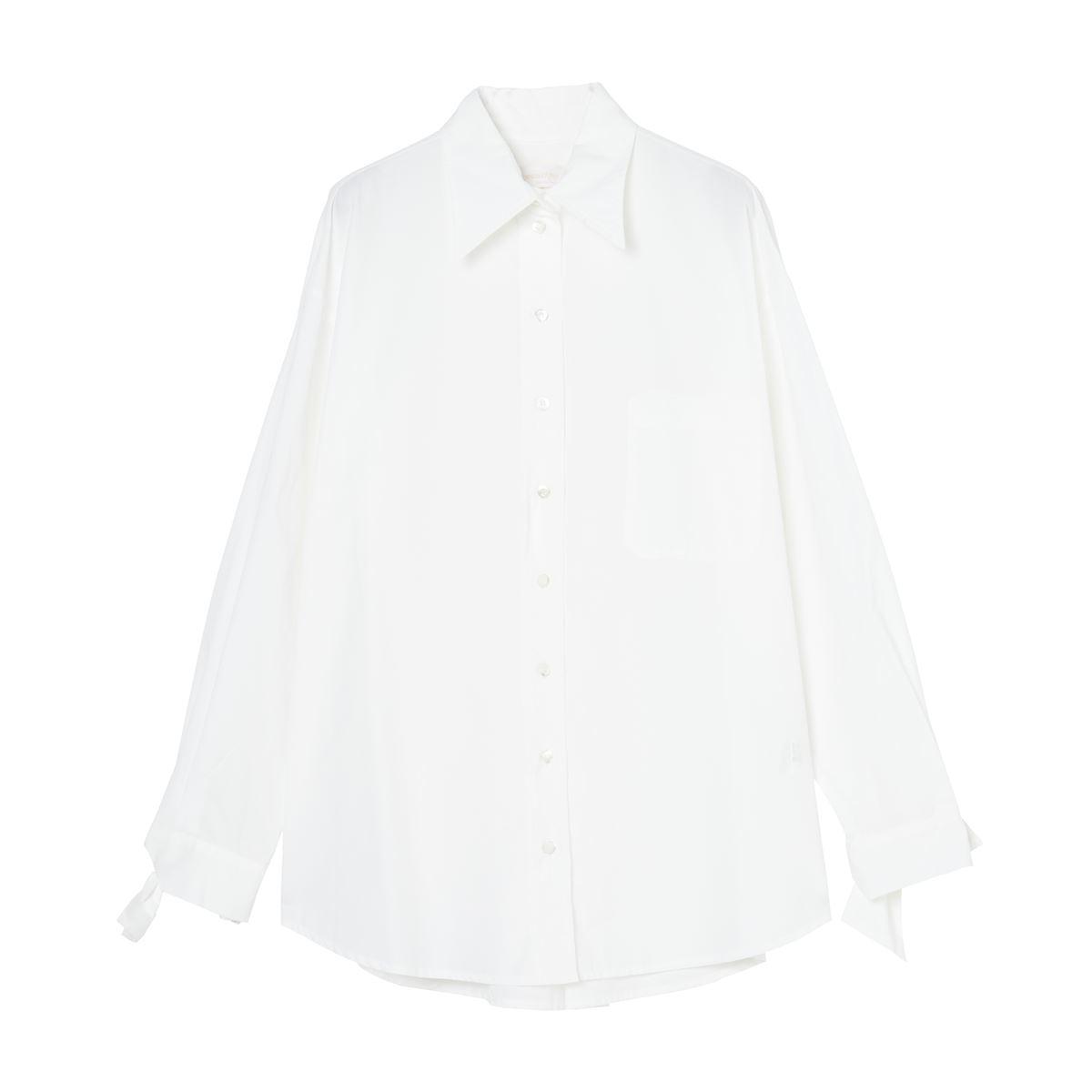 [2021秋冬]  ottod'Ame[オットダム]  122/PCH-EC4522-BIANCO シャツ ホワイト