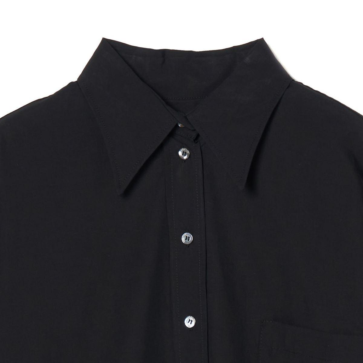 [2021秋冬]  ottod'Ame[オットダム]  122/PCH-EC4522-NERO シャツ ブラック