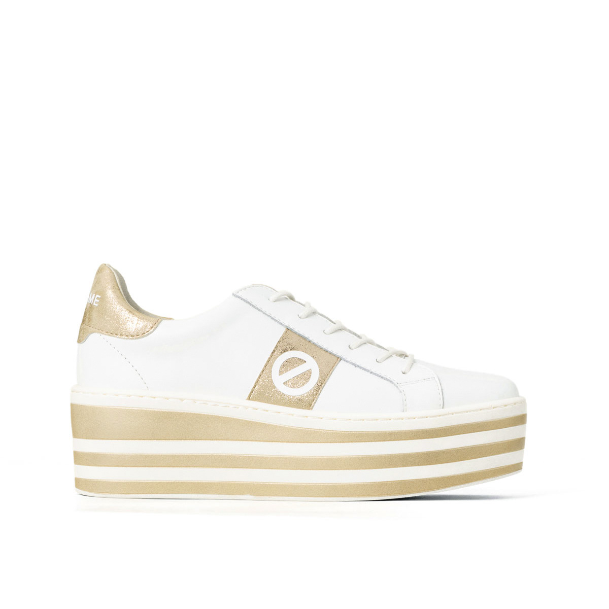 NO NAME ノーネーム BOOST-01153-WHITE/GOLD ブースト ホワイト/ゴールド