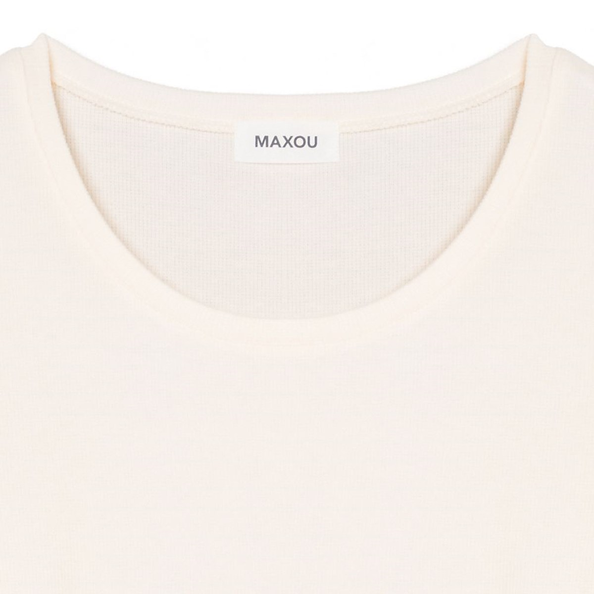 [50%OFF]  MAXOU[マクゾゥ]  MA402-1-1531-01OFF/WHI トップス オフホワイト