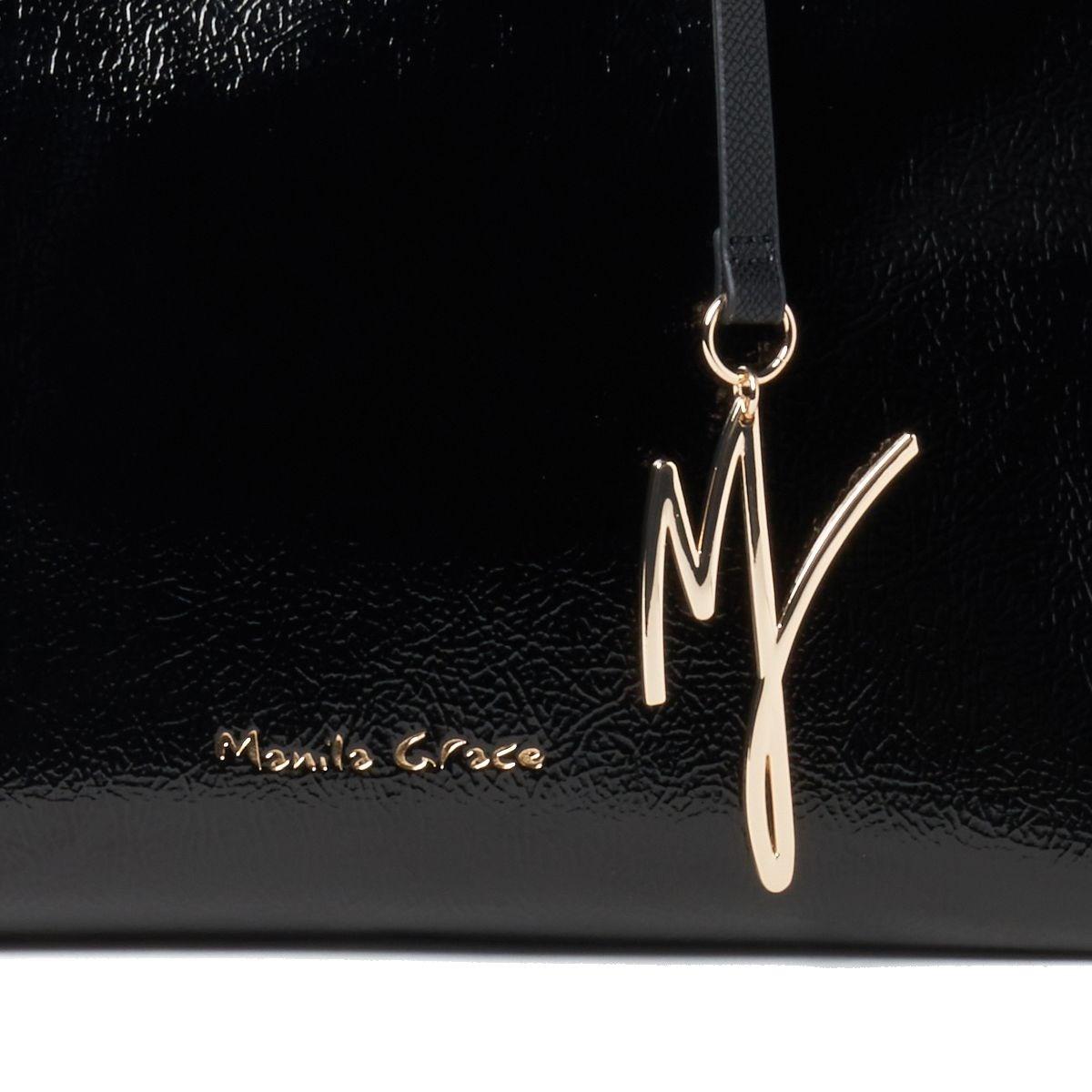 Manila Grace[マニラグレース]  W0A B028EU-MD500 バッグ ブラック