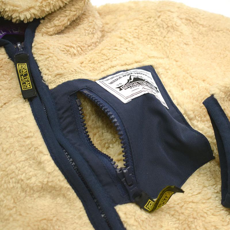オフィシャルチーム BOA FLEECE パーカージャケット アイボリー
