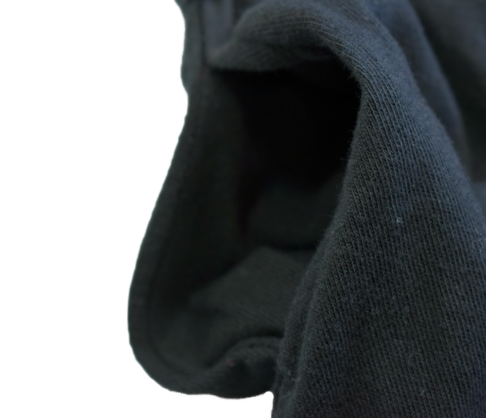 グラニーブランケット チュールスリーブワンピース ブラック