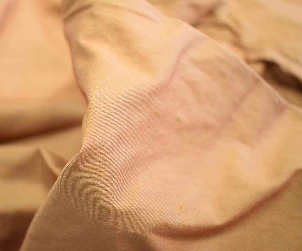 セラフ タック裾リボンパンツ キャメル