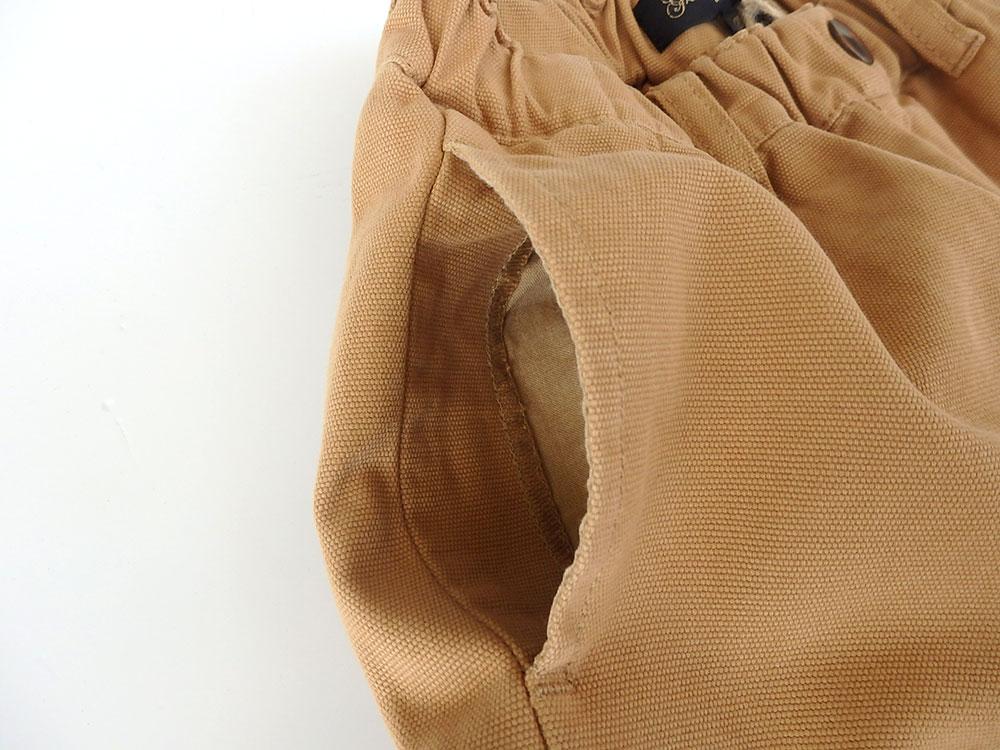 グラニーブランケット マイダックワイドパンツ ベージュ