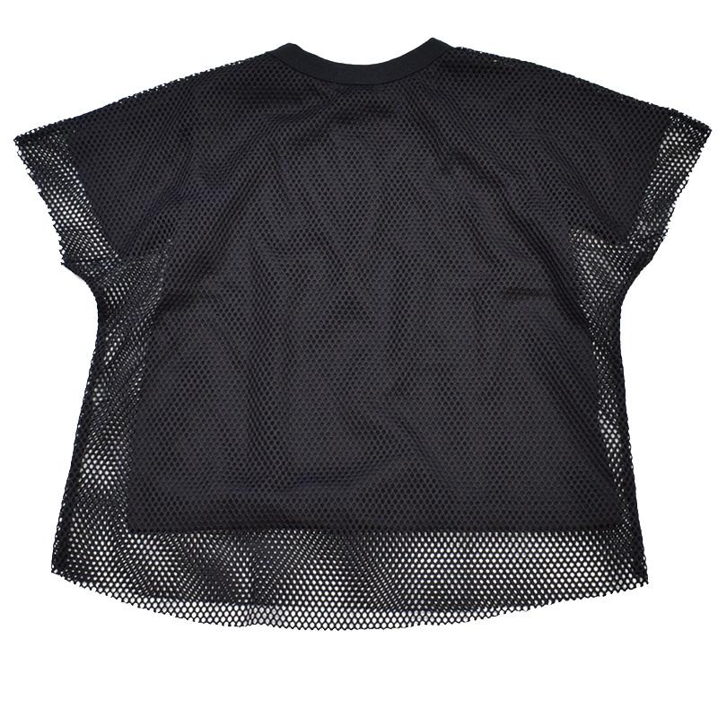 ニードルワークス Layered Tシャツ ブラック